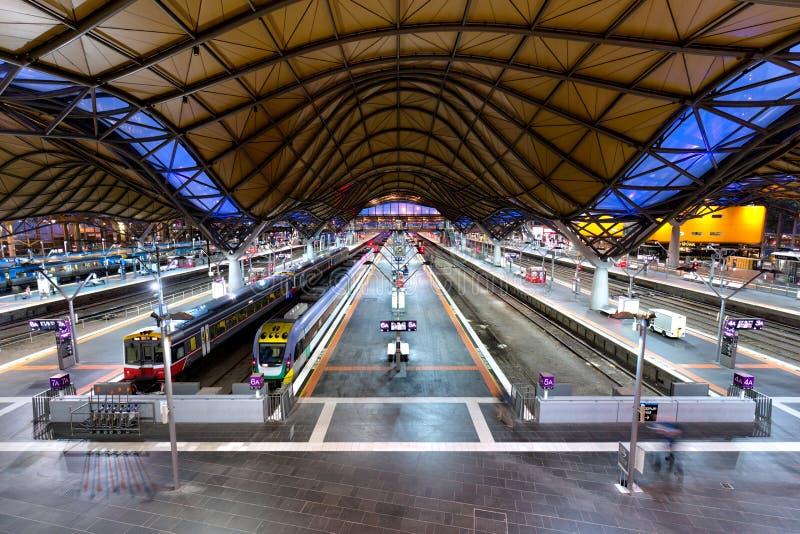 Southern Cross Station, Melbourne, Australia stock image