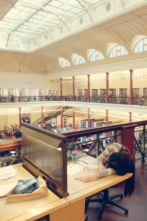 Melbourne-Stadt-Bibliothek lizenzfreie stockfotografie