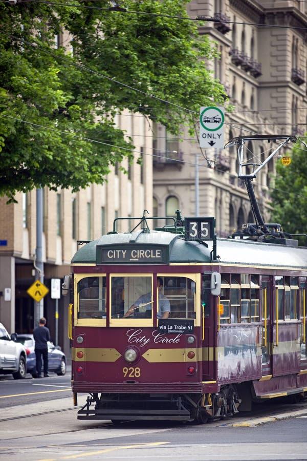 melbourne tramwaj zdjęcie royalty free