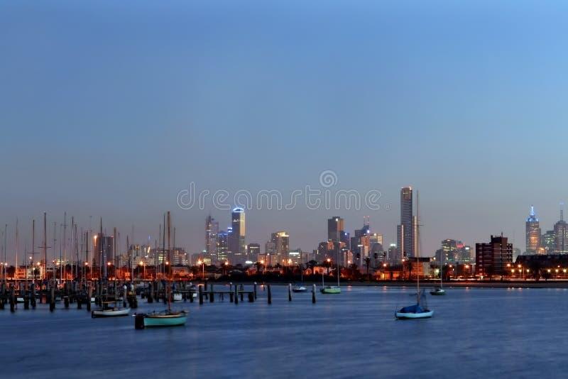 Melbourne van St Kilda royalty-vrije stock foto's