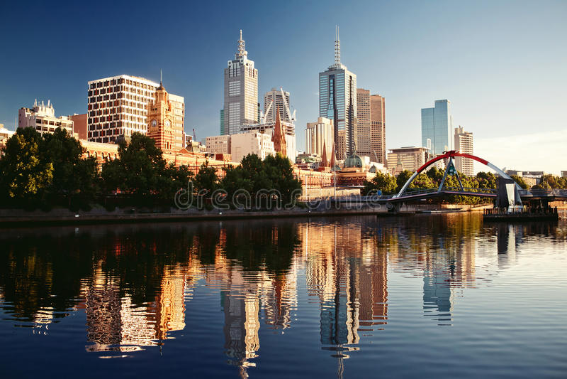Melbourne, Victoria, Australia imagenes de archivo
