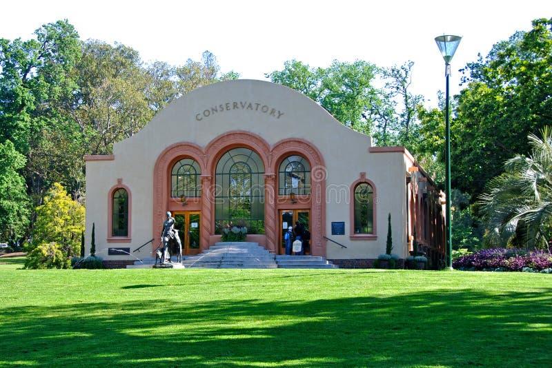 Melbourne, Victoria, Australia - giardini di Fitzroy immagine stock