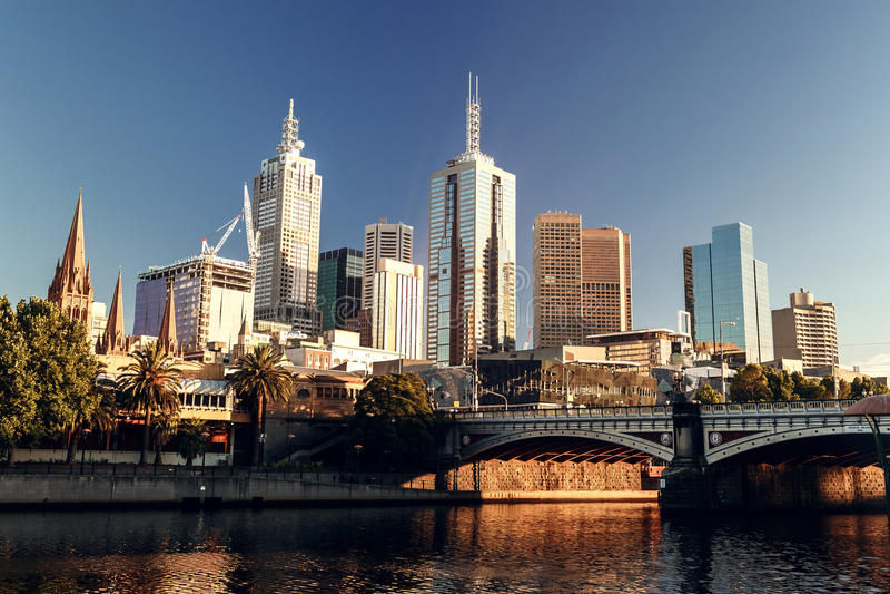 Melbourne, Victoria, Australien lizenzfreie stockbilder