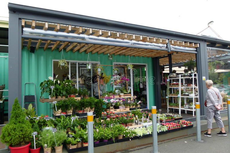 Melbourne Victoria Street Market stock image