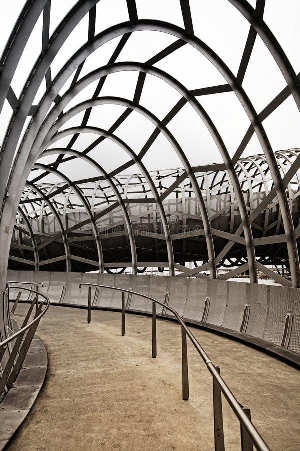 Melbourne, Webb Brücke nach innen lizenzfreie stockbilder