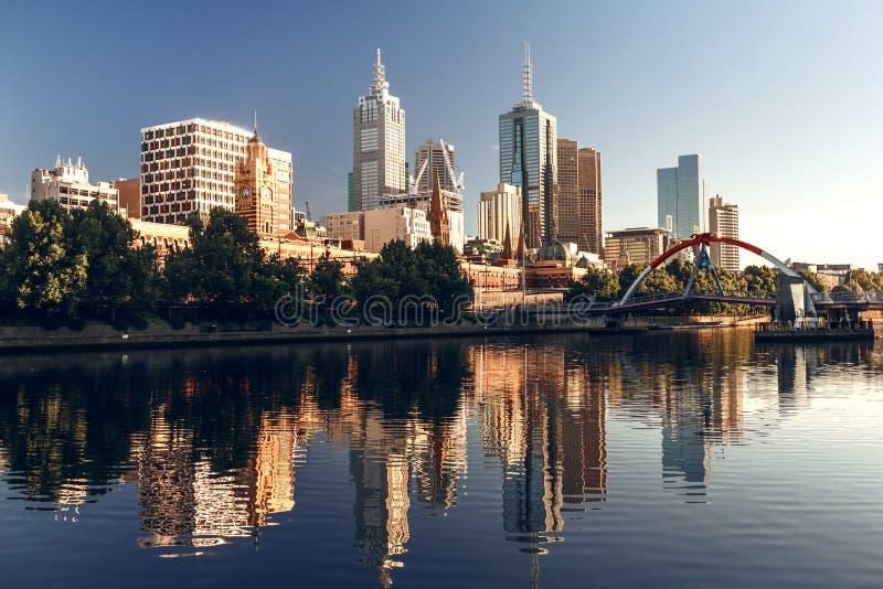 Melbourne, Wiktoria, Australia obrazy stock