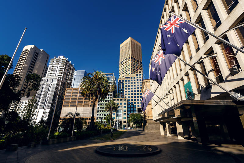 Melbourne, Wiktoria, Australia obraz royalty free