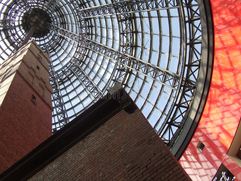 Melbourne-Zentrale stockfotos
