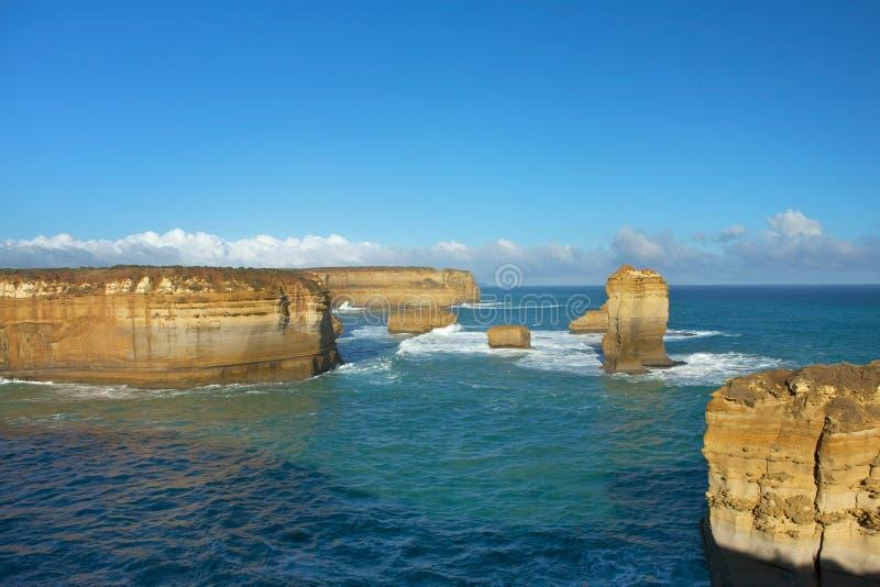Melbourne, zwölf Apostel lizenzfreies stockbild
