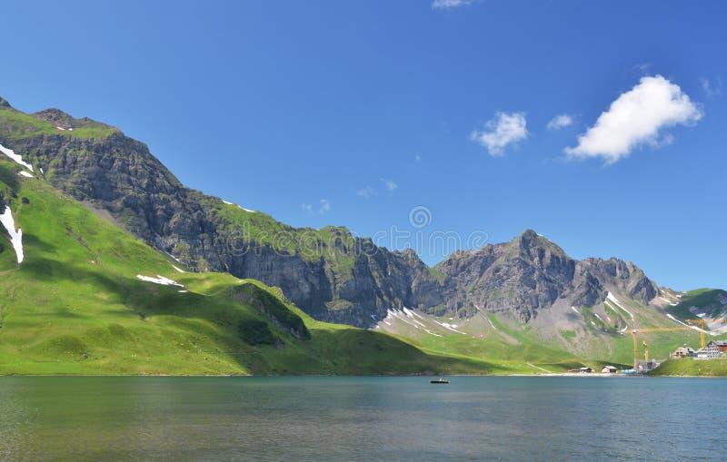Melchsee, die Schweiz stockbild