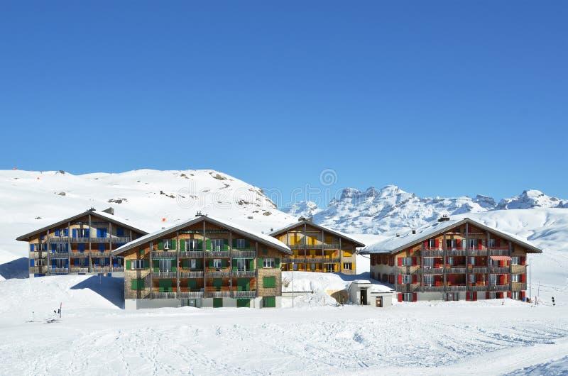 Melchsee-Frutt, Suiza fotografía de archivo libre de regalías