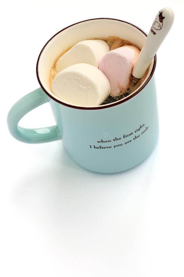 Melcocha y café foto de archivo libre de regalías