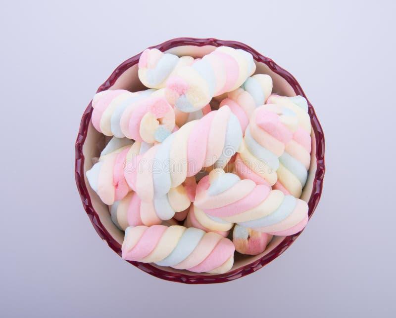 melcochas o caramelo de las melcochas en el fondo fotografía de archivo libre de regalías