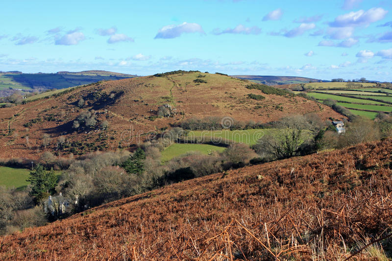 Meldon hill, Dartmoor stock photos