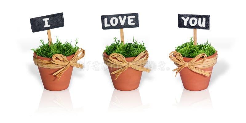 Meldung der Liebe lizenzfreie stockfotos