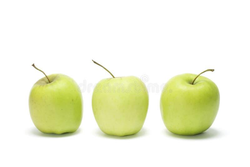 Mele di mela golden fotografia stock