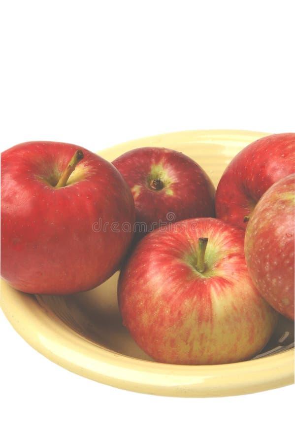 Download Mele rosse fotografia stock. Immagine di sano, alimento - 222872