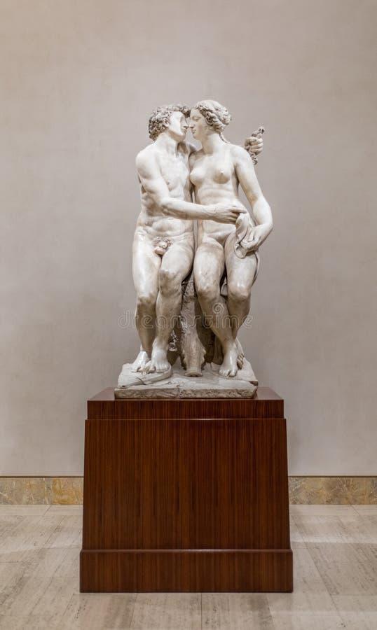 Meleager с скульптурой хряка Calydonian стоковые изображения