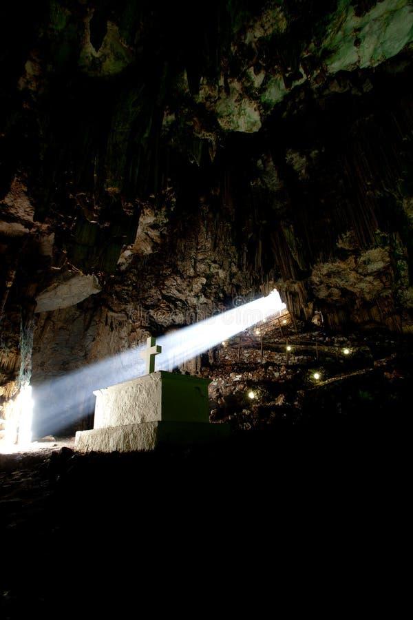 Meledony Höhle stockfotografie