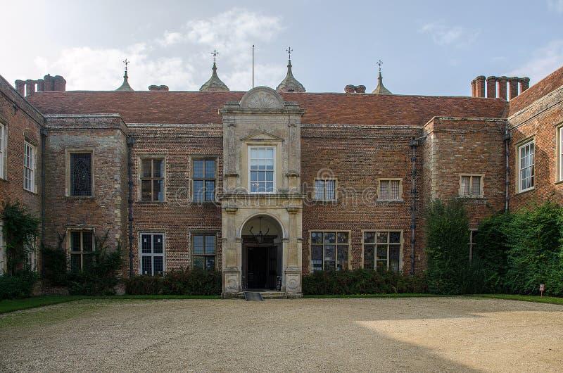 Melford Hall zdjęcia stock