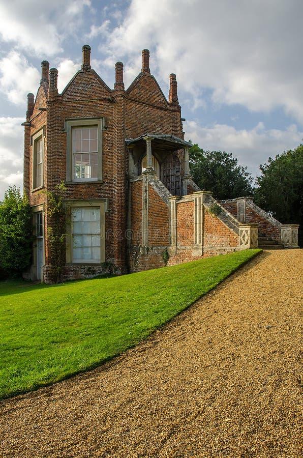 Melford Hall Bankietuje dom obrazy royalty free