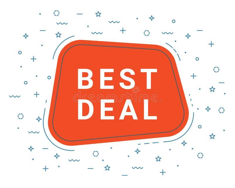 Melhor bolha vermelha do discurso do negócio loudspeaker Ilustrações para o mercado da promoção para cópias e cartazes, projeto d ilustração do vetor