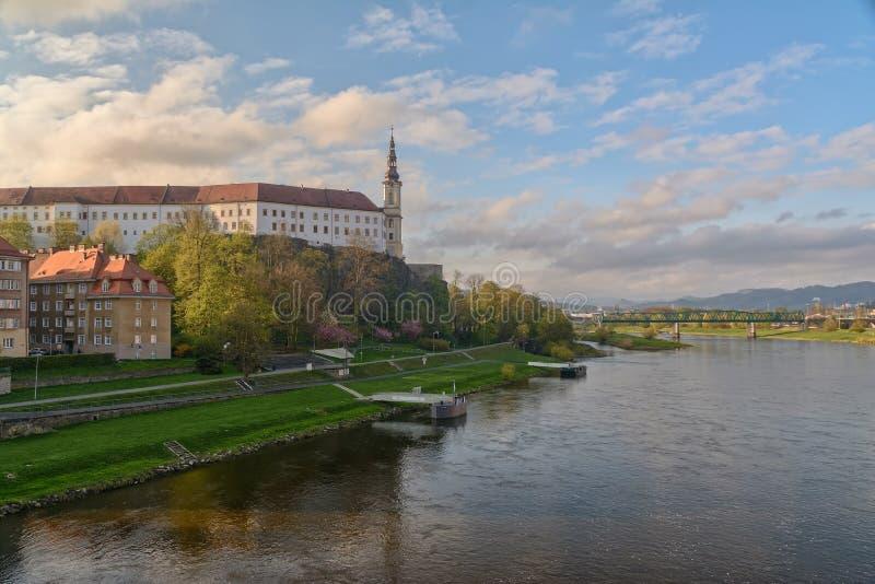 Melhor de Decin de Decin, República Checa fotografia de stock