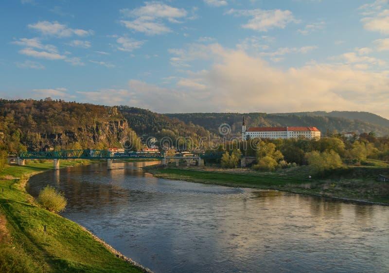 Melhor de Decin de Decin, República Checa fotos de stock