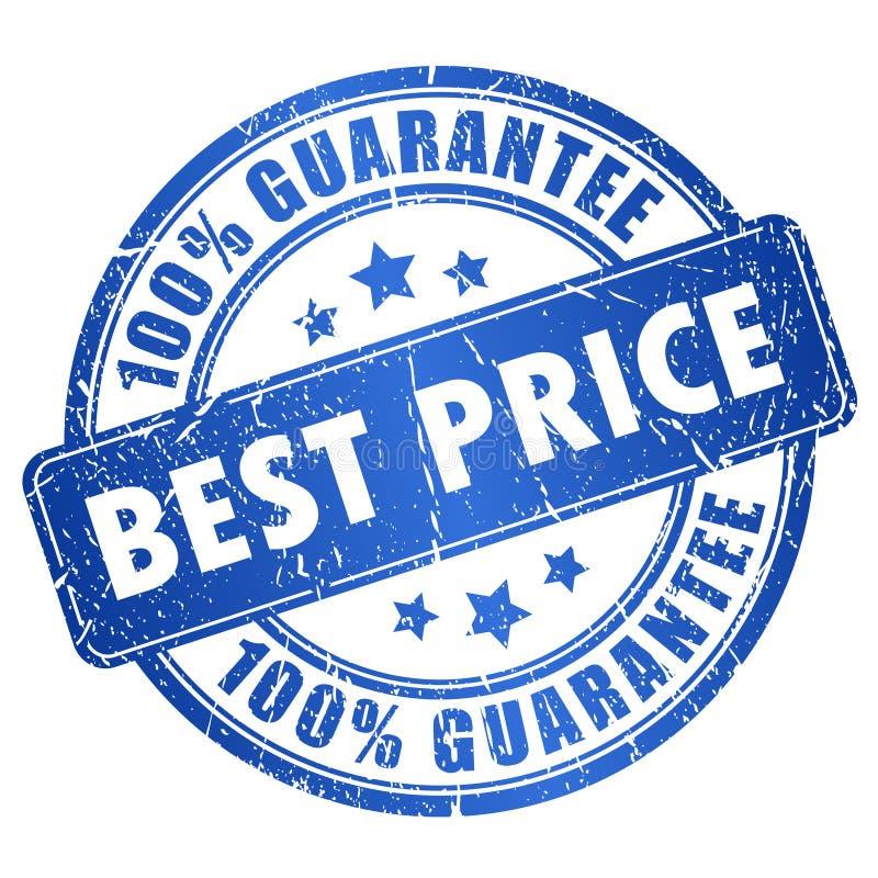A melhor garantia do preço ilustração do vetor