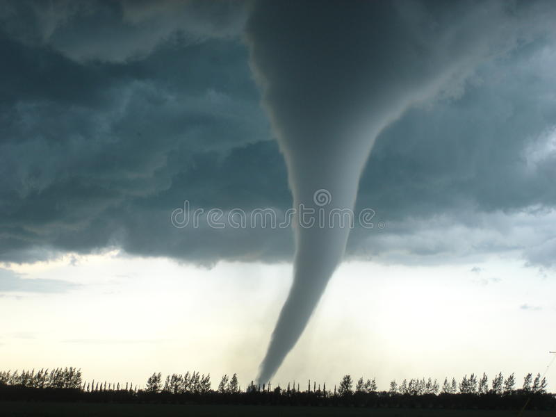 A melhor imagem do furacão nunca foto de stock royalty free