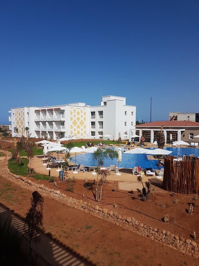 Melia Beach Saidia Maroc photographie stock libre de droits