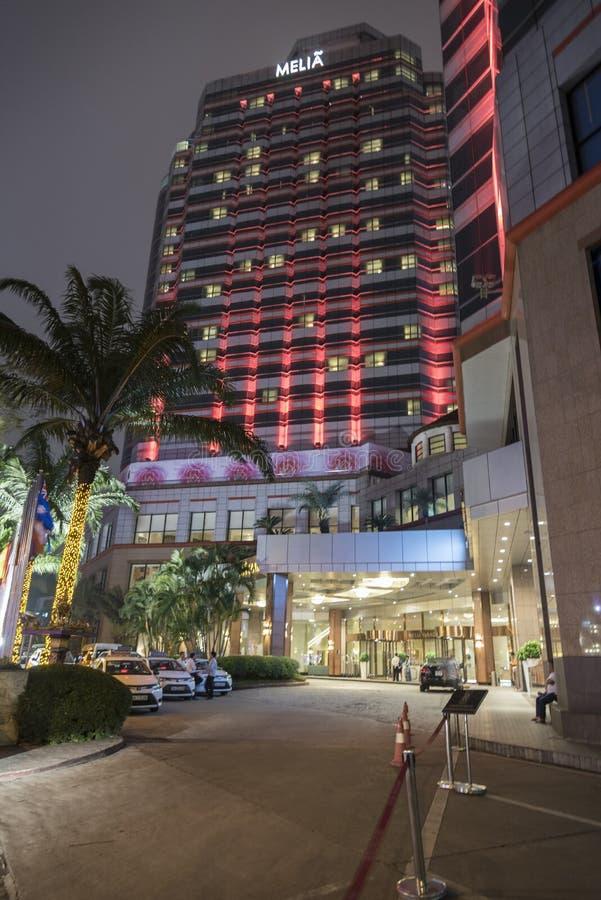 Melia Hotel Hanoi Vietnam royaltyfri foto