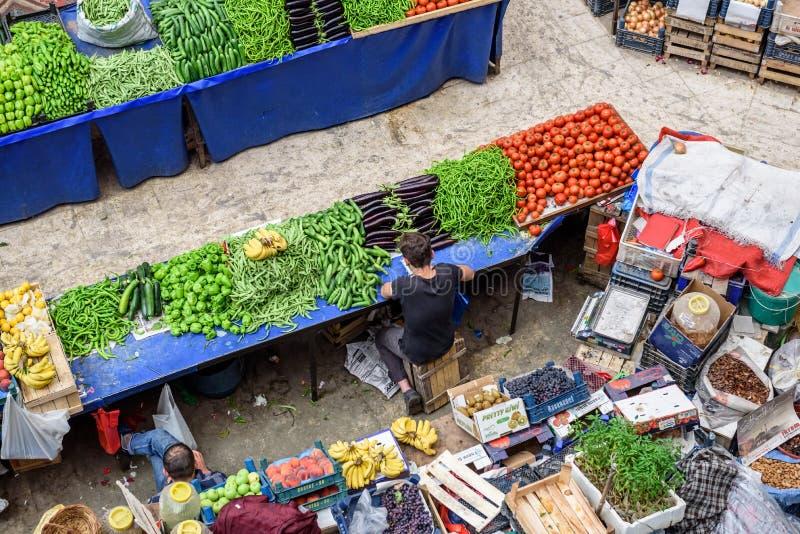 Melike Hatun Bazaar eller kadinlar pazariWomenbasar fotografering för bildbyråer