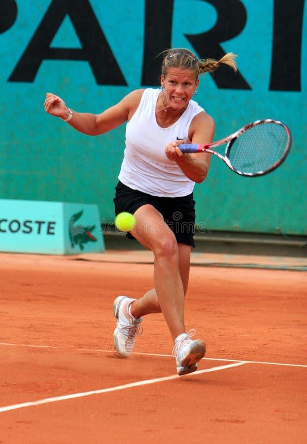 MELINDA CZINK (HUN) chez Roland Garros images libres de droits