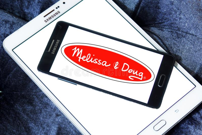 Melissa & Doug toys manufacturer logo. Logo of Melissa & Doug toys manufacturer on samsung mobile. Melissa & Doug is an American manufacturer and purveyor of stock photography