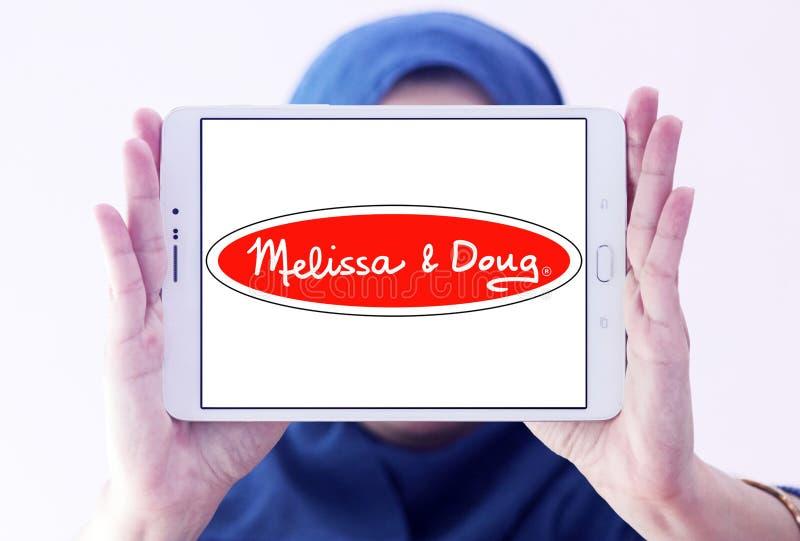Melissa & Doug toys manufacturer logo. Logo Melissa & Doug toys manufacturer on samsung tablet holded by arab muslim woman. Melissa & Doug is an American stock photos