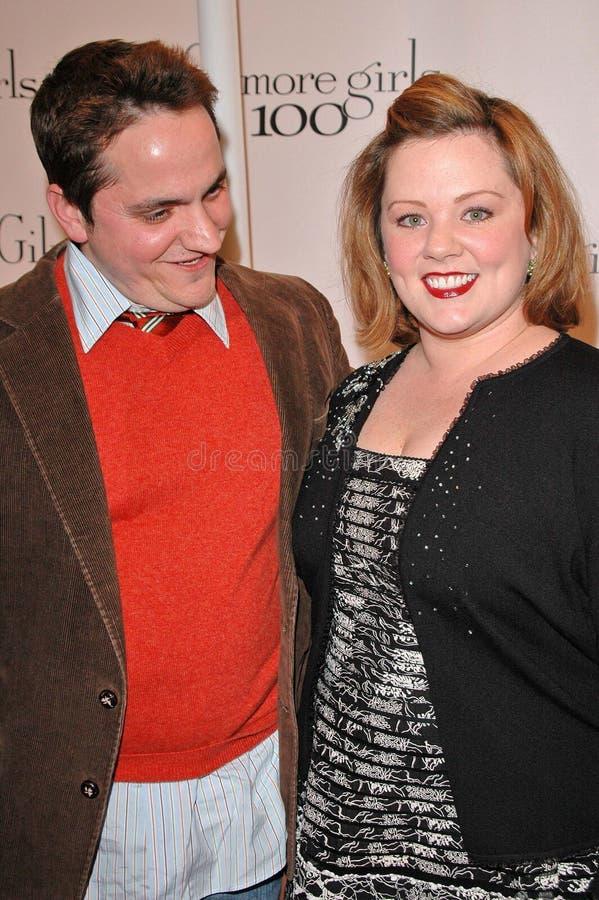 Melissa McCarthy, Ben Falcone photos libres de droits