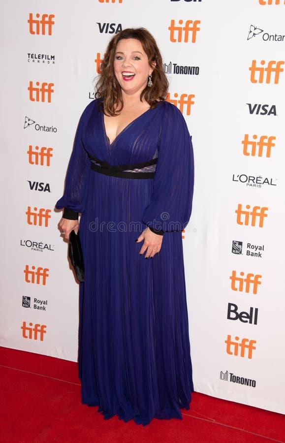 Melissa McCarthy przy premiera Może Kiedykolwiek Wybaczać Ja przy Toronto Międzynarodowo Ekranowym festiwalem 2018 Ty zdjęcie stock