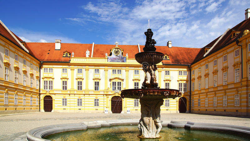 Melk Abbey, Austria stock image