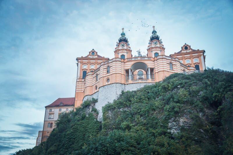 Melk Abbey in Austria royalty free stock photos