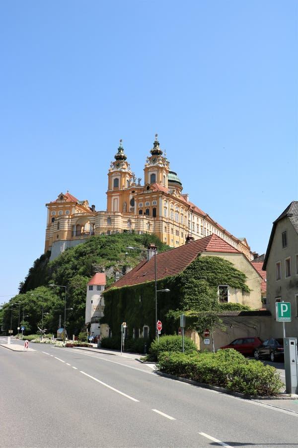 Melk Abbey, Austria stock images