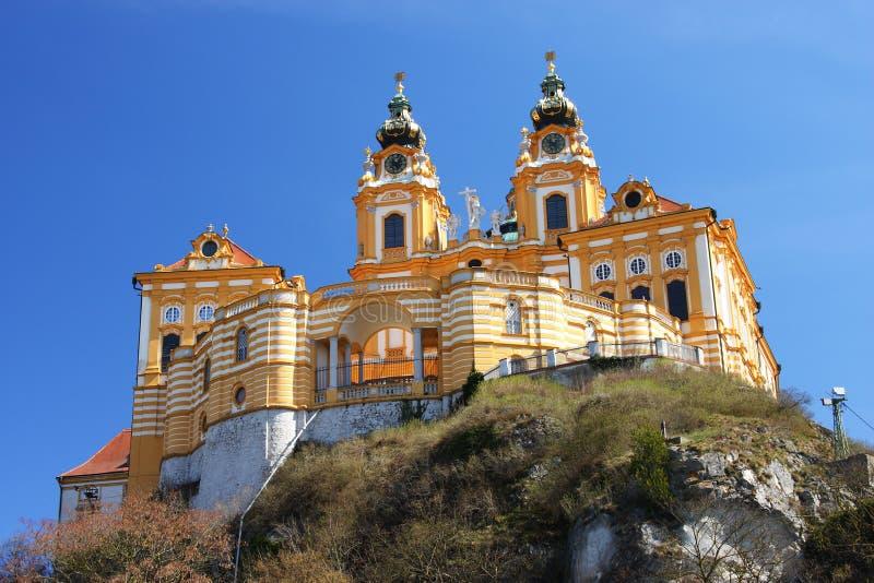 Download The Melk Abbey From Below, Wachau Region, Austria Stock Image - Image: 13805397