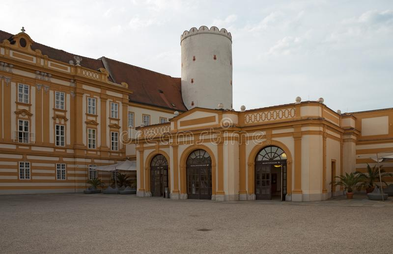 Melk Abbey - Benedictine monastery, Austria stock photography
