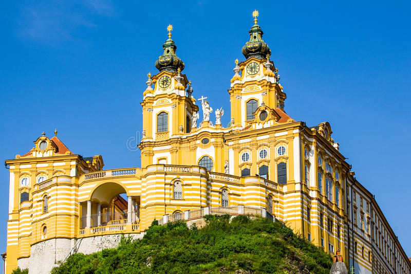 Melk Abbey Largest Catholic Library In le monde photo libre de droits