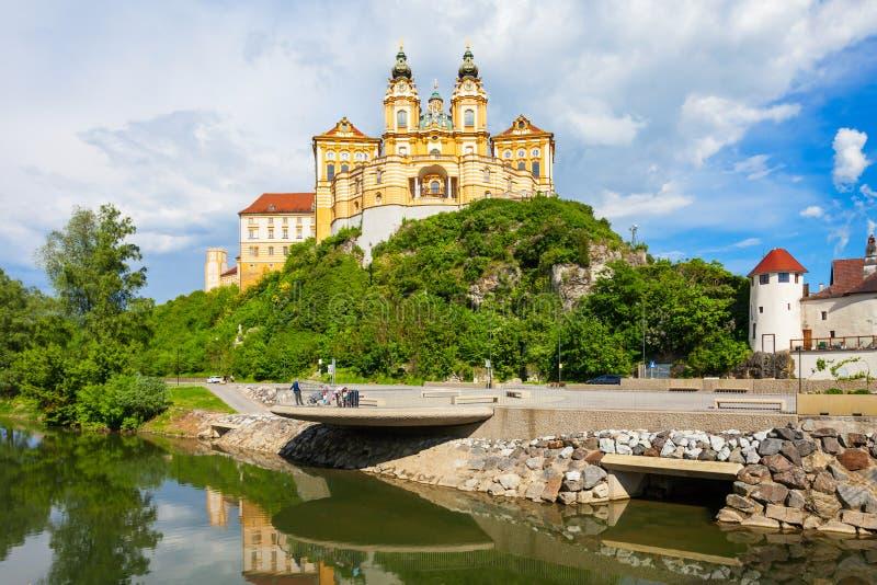 Melk Abbey Monastery, Austria royalty free stock images
