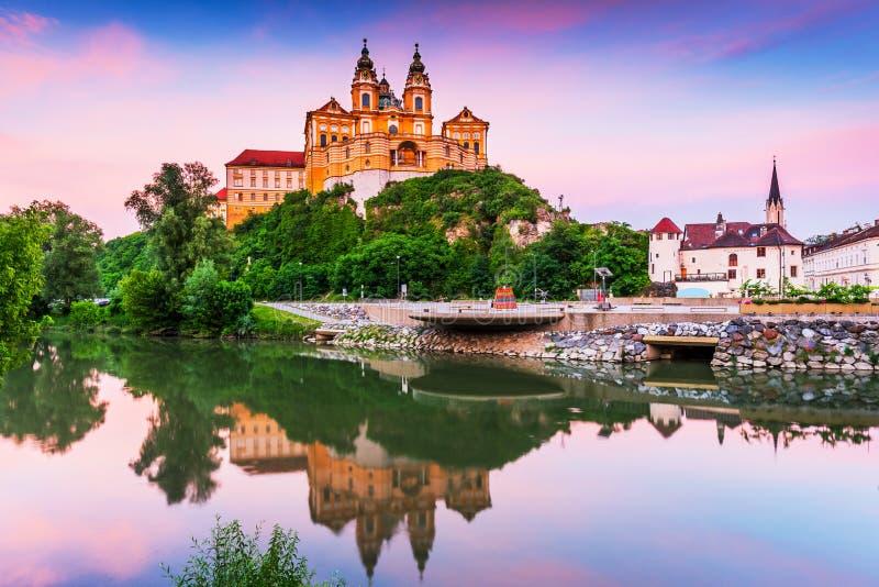 Melk, Austria foto de archivo