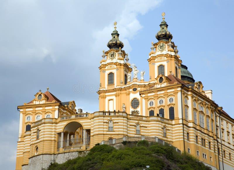 Melk kloster - Österrike royaltyfria foton