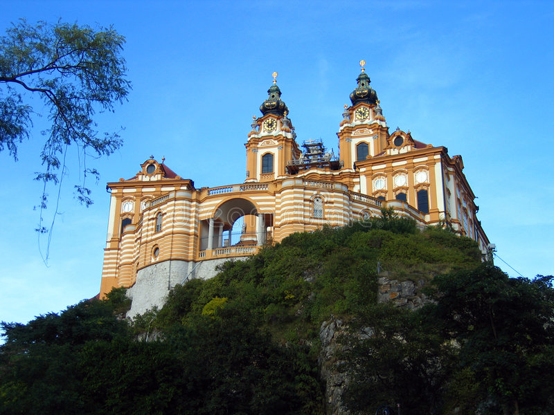 melk opactwie, Austria zdjęcie royalty free