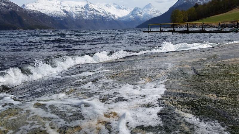 Melkild-Fjord stockfotografie