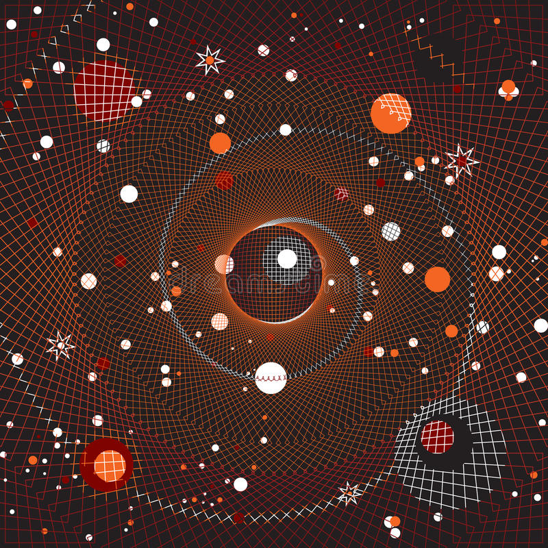 Melkweg stock illustratie
